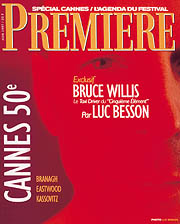 Article Couverture PREMIERE Cover : Bruce Willis & Luc Besson - Cinqui�me Element, Fifth