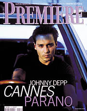 Article Couverture PREMIERE Cover : Johnny Depp - Las Vegas Parano, Fear and Loathing